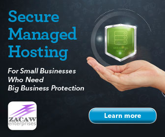 Secure managed website hosting